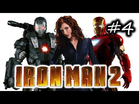 Iron Man 2 Gameplay Walkthrough Part 4 - Attack Protean