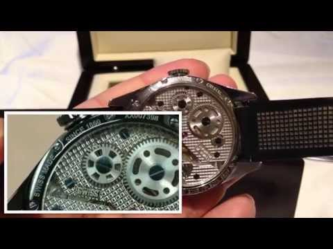 How to spot the differences between a real and a fake TAG Heuer Carrera Calibre 1 watch WV3010