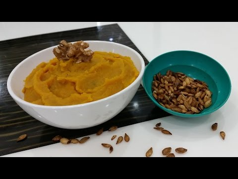 How to Make Pure Pumpkin Puree and Roasted Pumpkin Seeds from Scratch!