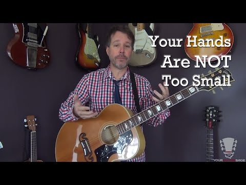 Why Your Hands Are NOT Too Small to Play Guitar