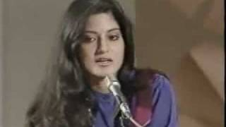 Nazia Hassan: Not Interested In Acting (Rare Clip)