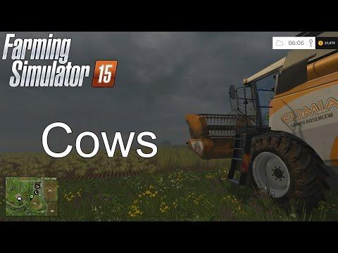 Farming Simulator '15 Tutorial: Cows