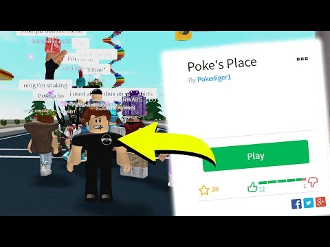 MAKING MY OWN ROBLOX PLACE! *COME PLAY WITH ME!*