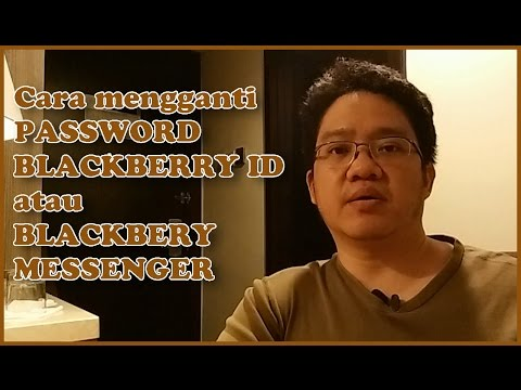 TechnoWit:Cara ganti password Blackberry ID / BBM