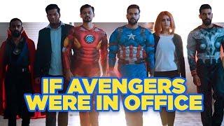 ScoopWhoop: If Avengers Were In Office
