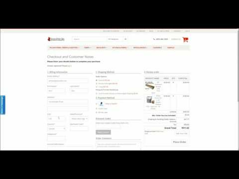 Shipping Quote and Shipping Address Walkthrough