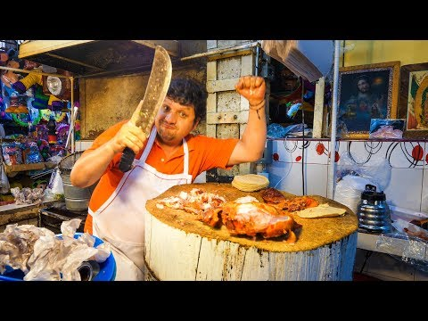 Xochimilco - STREET FOOD TOUR and BOAT RIDE on Canals of Mexico City!