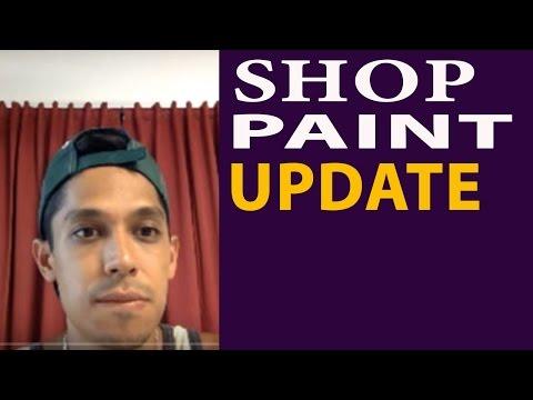 Shop Paint Update