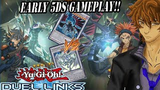 Yu-Gi-Oh! Duel Links] Leo 5D's Skills and Cards! Life Stream