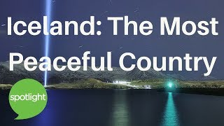 Download ″Iceland: The Most Peaceful Country″ - practice English with Spotlight Video