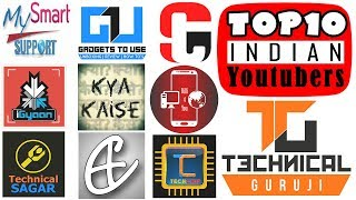 Top 10 Tech Youtubers in India & Their Monthly Earning (Updated)