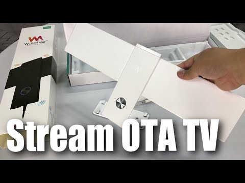 Stream Over-The-Air OTA TV for Cord Cutting with WatchAir TV EPUS-100W (Setup and Review)