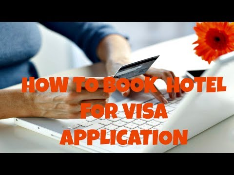 HOW TO BOOK HOTEL FOR VISA APPLICATION FREE OF COST [STEP BY STEP GUIDE]