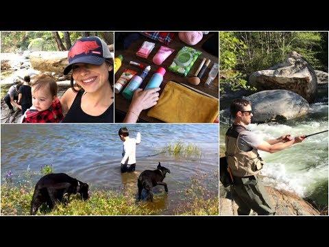 Camping Prep + vlog