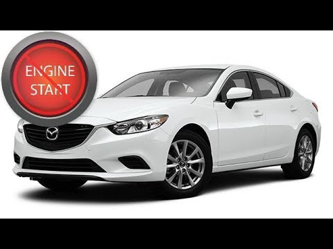 Mazda, 2014 and newer: Open, start late model push-button start models with a dead key fob battery.