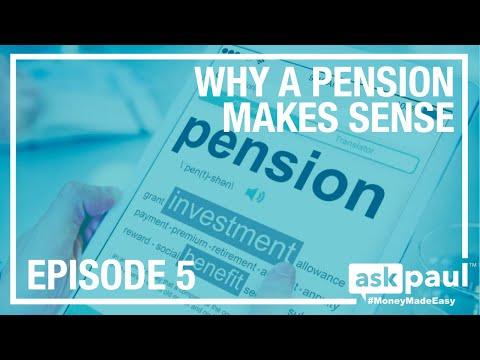 AskPaul Ep 5 - Why A Pension Makes Sense