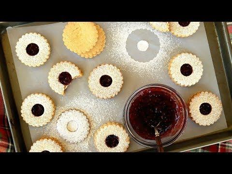 Gluten-Free Linzer Cookies - Holiday Cookie Recipe - It's Raining Flour Episode 153