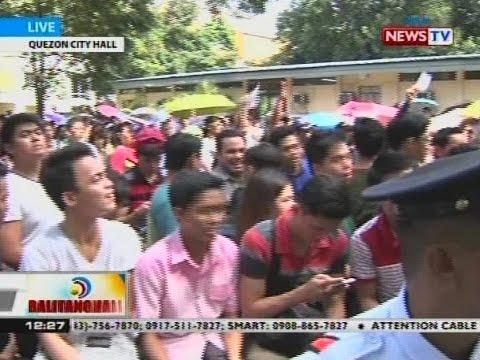 BT: Mga humahabol sa huling araw ng voter registration sa QC, mahaba na ang pila
