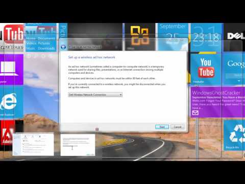 How To Make A Small  Network In Windows 7