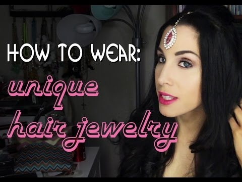 How to wear unique hair jewelry | 3 party hairstyles using Irresistible Me hair accessories