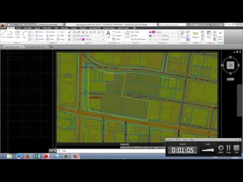 AutoCAD for Site Planning - Drawing Existing Buildings and Topography
