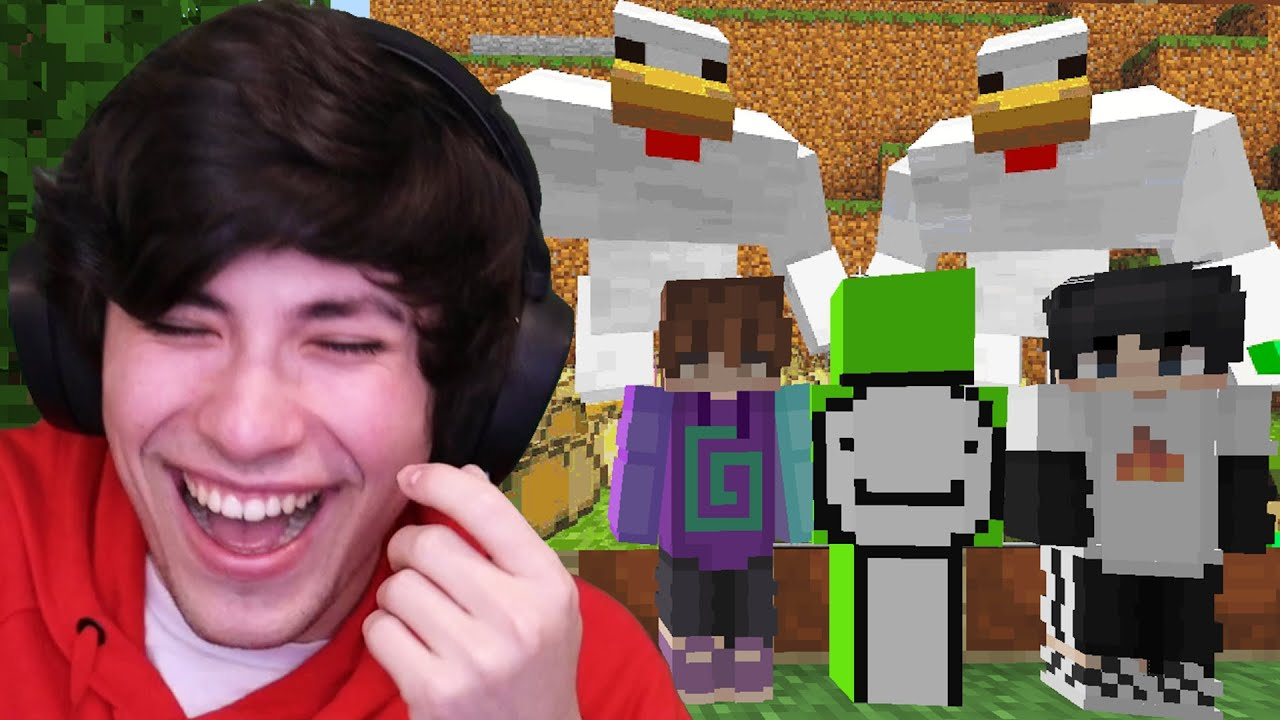 Minecraft, But If You Laugh You Lose FINALE