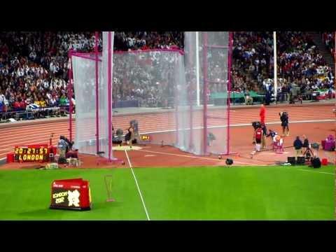 Mens Discuss Final Big Throw, London 2012 Olympics