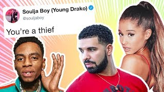 Download Soulja Boy Starts Twitter War, Accuses Ariana Grande and Drake of Theft
