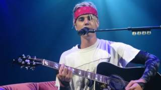 """Justin Bieber performing """"Come Home To Me"""" Purpose Tour"""