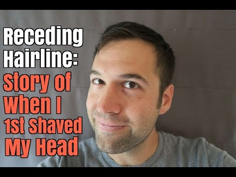 Receding Hairline: Story of When I 1st Shaved My Head