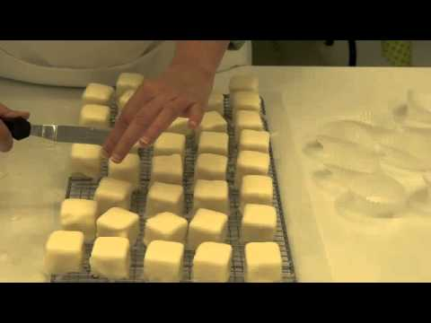 How to Make Petit Fours - Part 3 -Dipping the Cake
