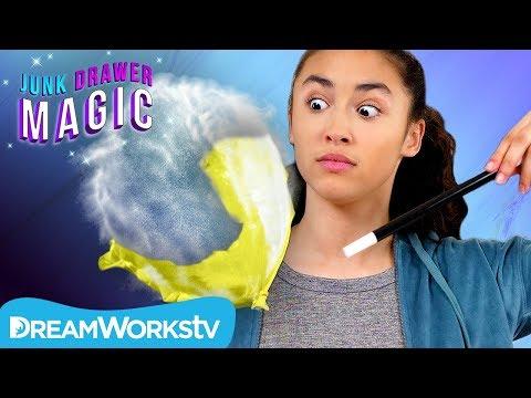 Popped Balloon Illusion   JUNK DRAWER MAGIC