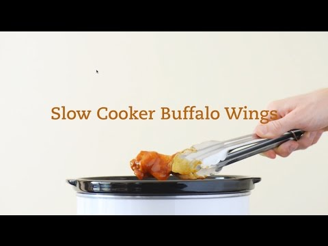 Slow-Cooker Buffalo-Barbeque Chicken Wings