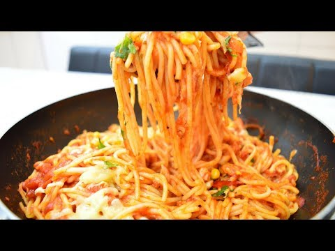 How to cook Tasty Spicy Chicken Spaghetti | Indian Cooking Recipes | Cook with Anisa