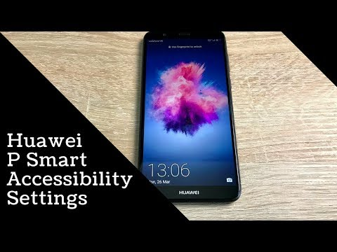 Huawei P Smart Accessibility settings