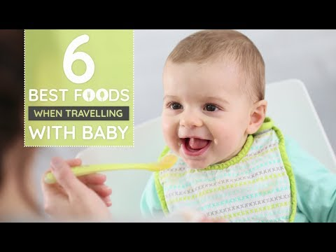 6 Baby Foods for Travelling | Babygogo