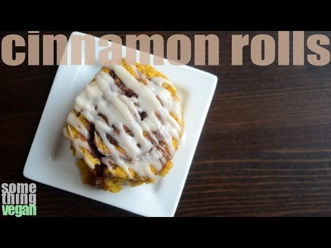 overnight pumpkin cinnamon rolls (vegan and gluten-free) Something Vegan