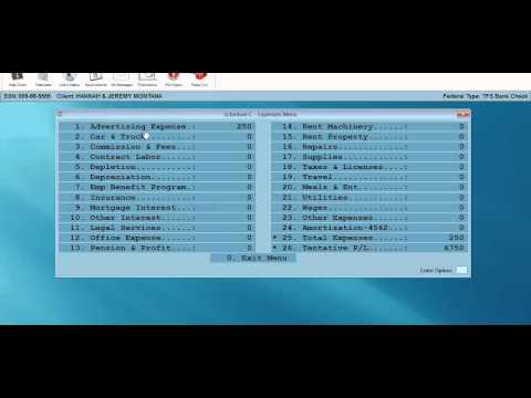 Schedule C Video