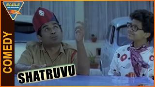 Shatruvu Hindi Dubbed Movie || Brahmanandam Best Comedy Scene || Eagle Hindi Movies