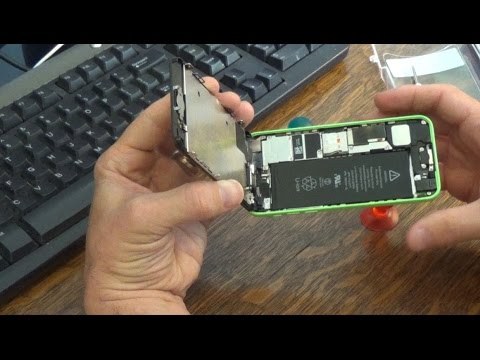 How to Open an iPhone 5C