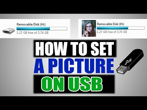 How to change USB Drive icon and set your Picture on USB