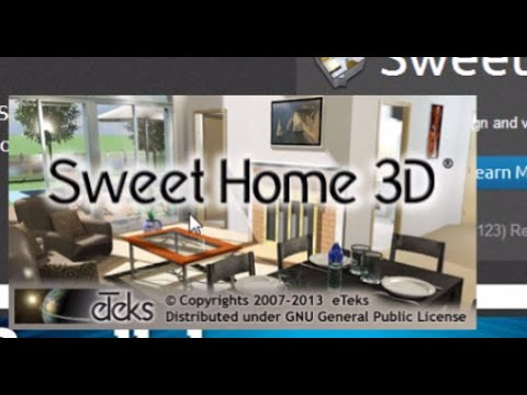 SweetHome3d - How to Download and Install