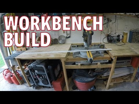 Workbench Build Ideas - With Saws Built In