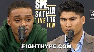 (WOW!) ERROL SPENCE LASHES OUT, TRADES WORDS WITH MIKEY GARCIA; TELLS HIM TO DROP HUMBLE ACT
