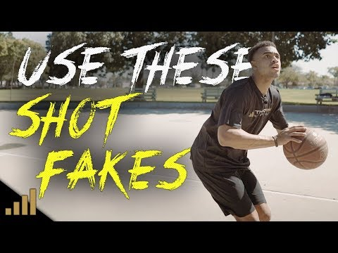 How to: Beat TOUGH Defenders in Basketball using DEADLY Shot Fake Moves! Unstoppable Scoring Moves
