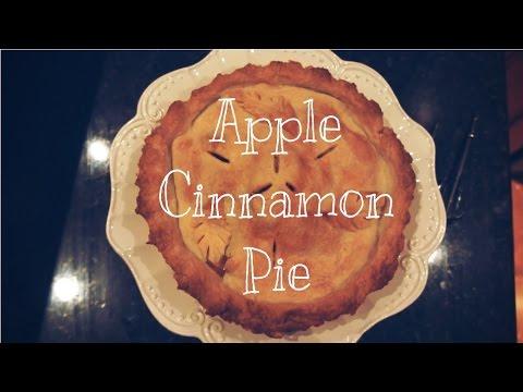 Easy-to-make Apple Cinnamon Pie