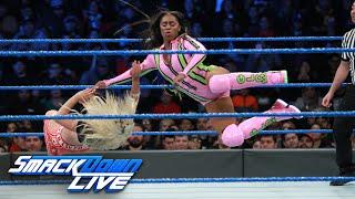Charlotte Flair, Becky Lynch & Naomi vs. The Riott Squad: SmackDown LIVE, Jan. 16, 2018