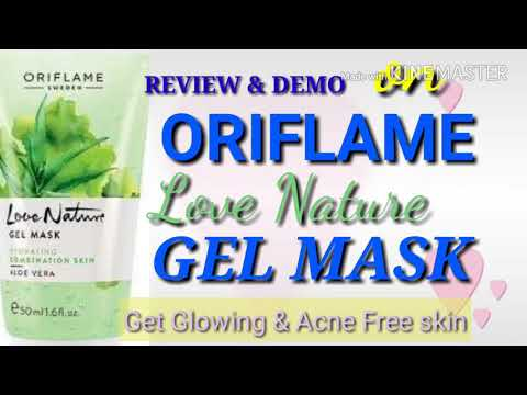 SET-4:GET HEALTHY & GLOWING SKIN EASILY/REVIEW & DEMO ON ORIFLAME LOVE NATURE ALOEVERA FACE MASK/