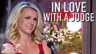 X Factor Contestants In Love With A JUDGE | X Factor Global