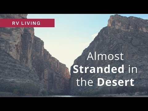 RV Living | Hiking Santa Elena Canyon and the Hot Springs in Big Bend National Park